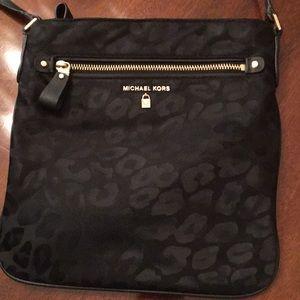 Michael Kors Kelsey Leopard Crossbody Bag